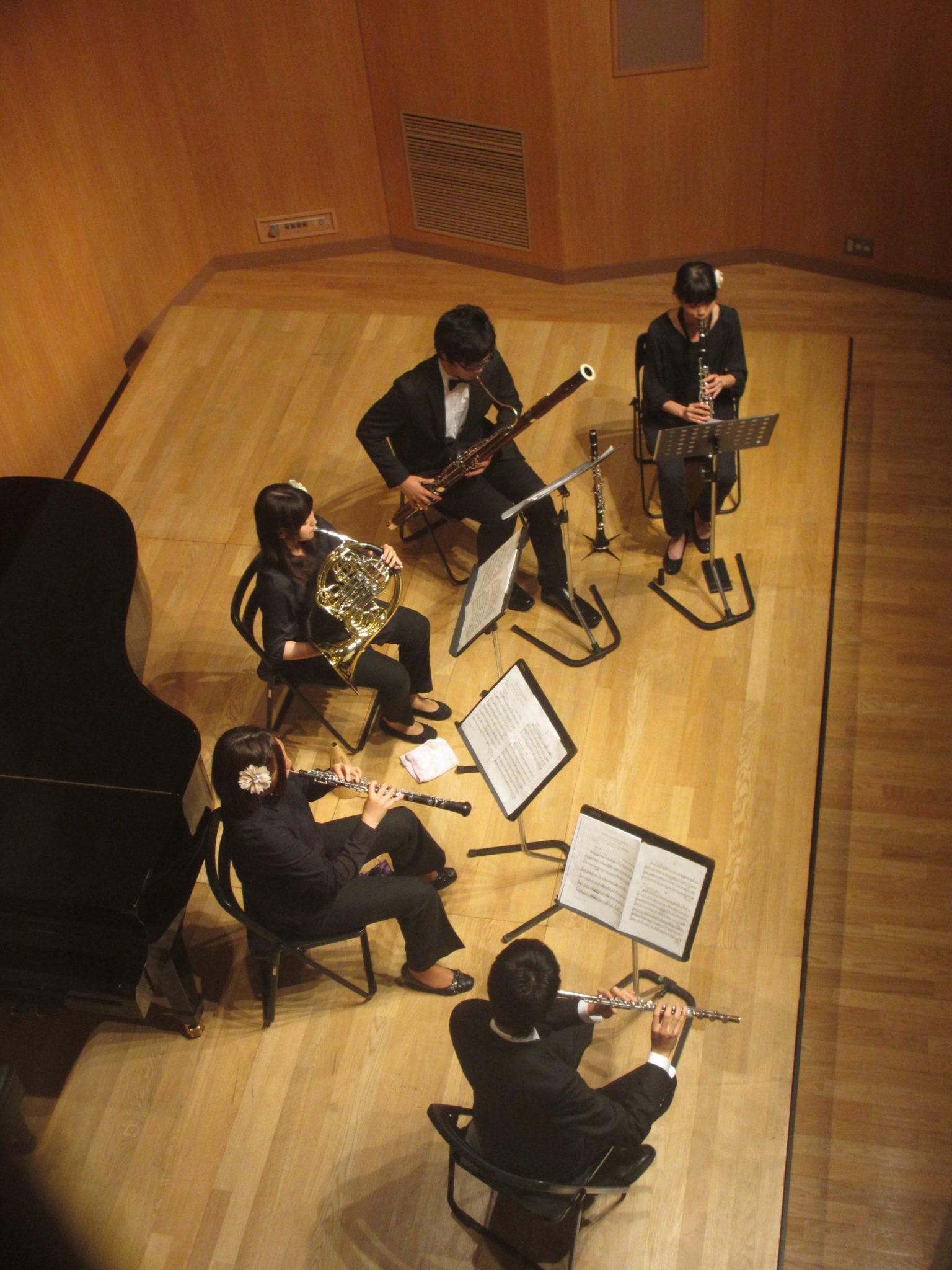 2015年5月10日(日)バードッグ木管五重奏団 1stコンサート【ギャラリー】