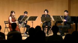 【ギャラリー】2018年3月31日(土)Saxophone Quartet Recital